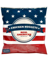 Real American Chicken nuggets Halal