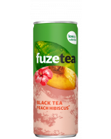 Fuze Tea Black tea peach hibiscus